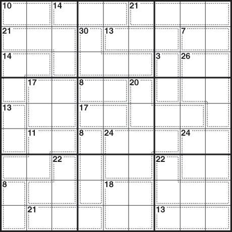 sudoku 189 killer