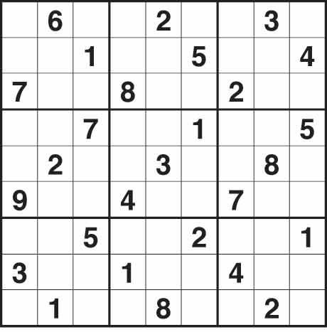 Sudoku 1,587 easy