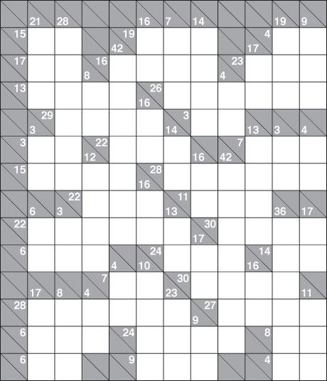 Kakuro 1,129 hard