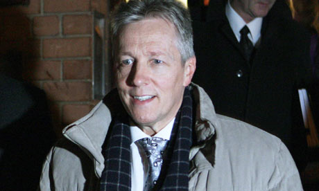 Peter Robinson leaves party headquarters