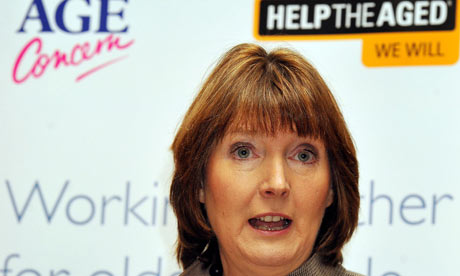 Harriet Harman at the Age UK event