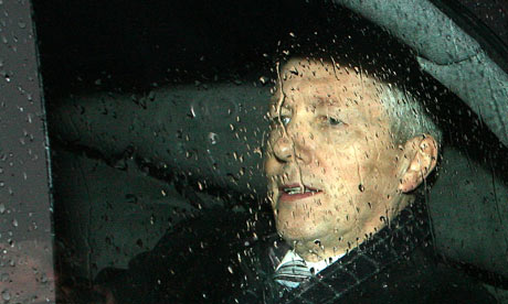 Peter Robinson leaves Stormont