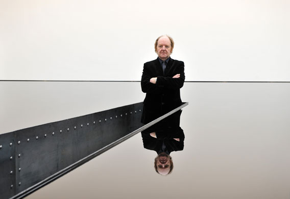 Slick oil: Richard Wilson's 20:50 at the Saatchi Gallery ...