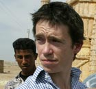 Rory Stewart in Iraq in 2004, when he was deputy governate coordinator of Maysan province.