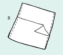 Make a simple cushion cover