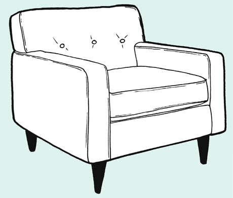 how to make sofa chair