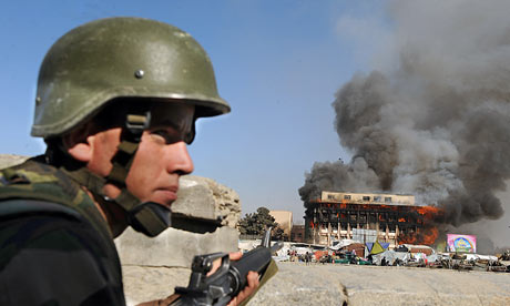 Taliban attacks in Kabul