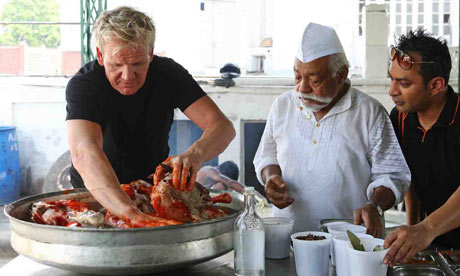 Gordon Ramsay in India