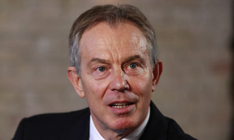 Tony Blair in Copenhagen on 13 December 2009.