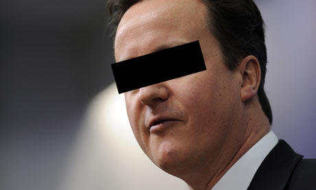 disguised David Cameron
