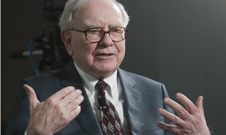 Warren Buffett  of Berkshire Hathaway