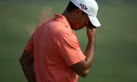 Sex addict? Tiger Woods. Photograph: Nir Elias / Reuters/Nir Elias/Reuters