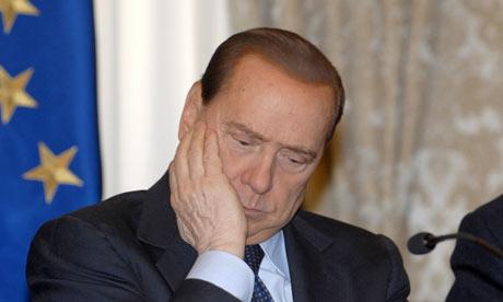 Il primo ministro italiano Silvio Berlusconi
