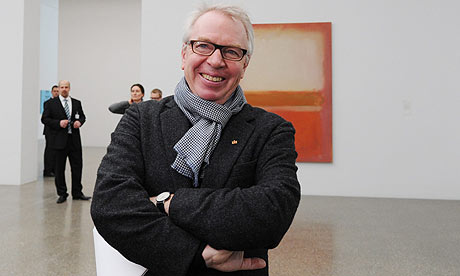 Architect David Chipperfield at the Folkwang Museum