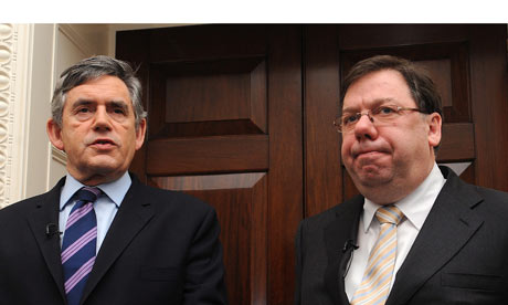 Gordon Brown abd Brian Cowen