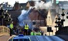 Building collapses in Shrewsbury