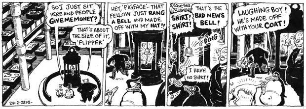 Steve Bell's If ... flashback 05.01.10