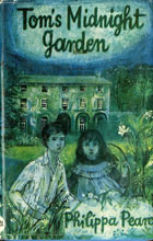 Susan Einzig's cover illustration for Tom's Midnight Garden
