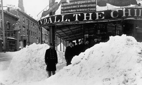 The New York Blizzard of 1888 proved that the human desire to carry on 