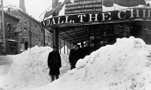 New York blizzard of 1888