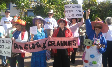 A group of raging grannies in protest. Our Mission: In the tradition of wise ...