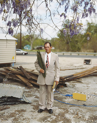 Alec Soth - Patrick, Palm Sunday, Baton Rouge, Louisiana, 2002