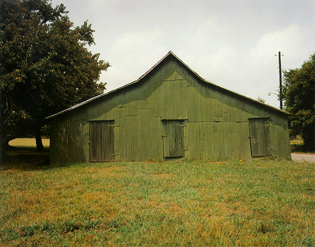 William Christenberry - Green Warehouse, 1978