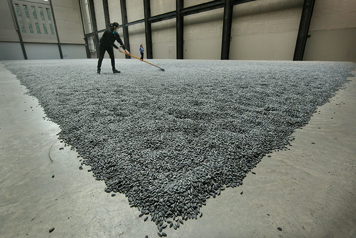 Turbine Hall: 'Sunflower Seeds' at The Tate Modern