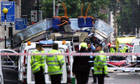 Bus bombed near Tavistock Square, 7 July 2005