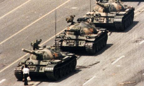 Tiananmen Square protest, Beijing, 1989