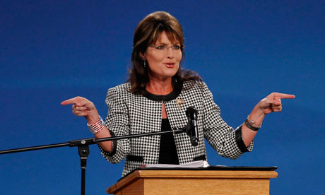 Sarah Palin speaks in Houston