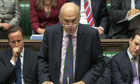 Vince Cable gives Commons statement on tuition fees