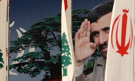 A poster of Mahmoud Ahmad 006 O Líbano quer paz e quer suas terras de volta. É errado pedir de volta terras roubadas contra a lei da ONU?