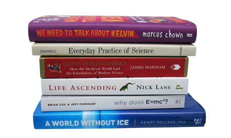 2010 Royal Society science book prize shortlisted titles