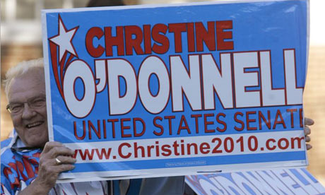 Christine O'Donnell sign