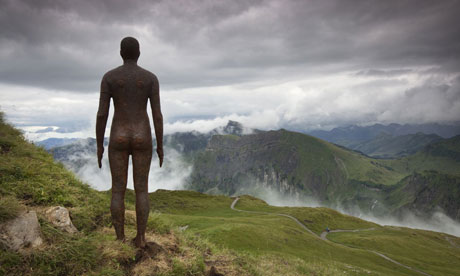 Anthony Gormley's Horizon Field in Vorarlberg