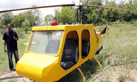 Mubarak Muhammad Abdullahi helicopter