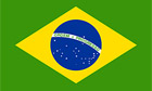 The flag of Brazil