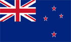 The flag of New Zealand