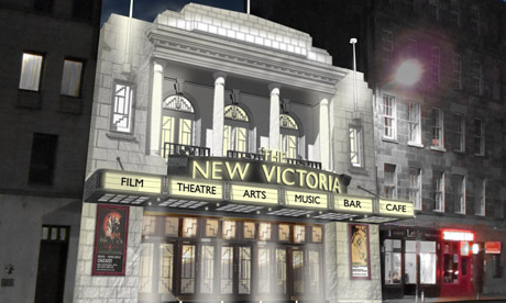 Proposed facade of The New Victoria in Edinburgh