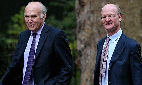 Vince Cable and David Willetts