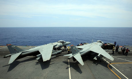 Life On Board HMS Ark Royal