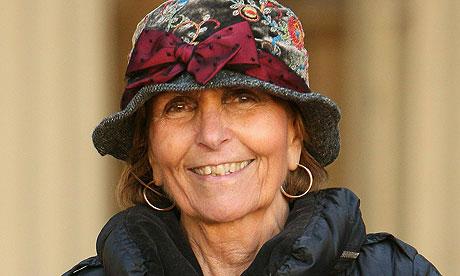 Dame Paula Rego at Buckingham Palace