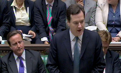 George Osborne at the Comprehensive Spending Review