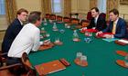 Cameron, Clegg, Osborne and Alexander