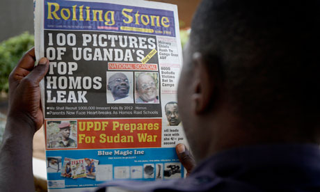 Ugandan newspaper headline calls for gay people to be hanged