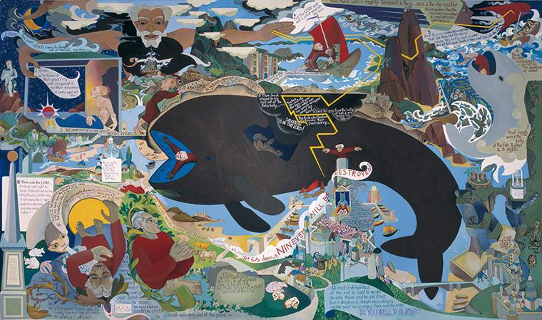 Gallery alasdair gray glasgow piranesi books the for Alasdair gray hillhead mural