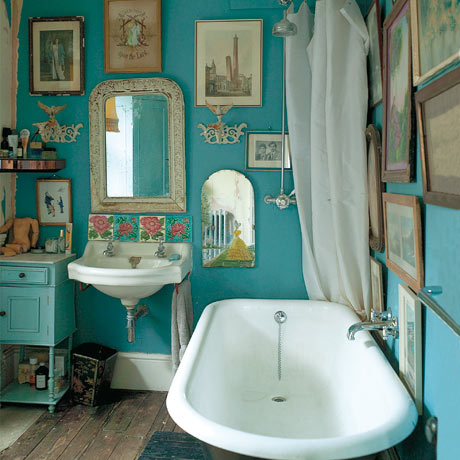 Cottage Style Bathroom Vanity on Vintage Bathroom Style   Bathroom Design