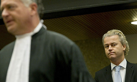 Dutch anti-Islam politician Geert Wilders in court