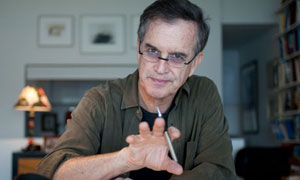 Garry Trudeau in his New York studio